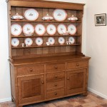 Traditional Welsh dresser in oak