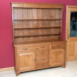Welsh style dresser and sideboard in solid Oak