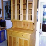 Sweet Chestnut dresser finished with linseed oil