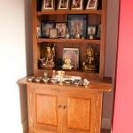 American Black Walnut buddhist shrine