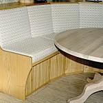 Ash corner seat