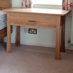 Bedside table in oak