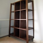 Walnut storage unit
