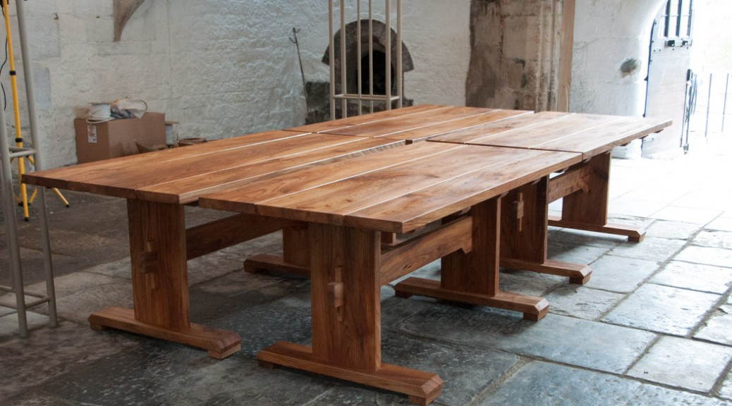 Medieval Style Tables For The Abbotu0027s Kitchen