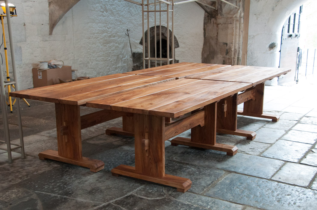 Medieval Style Tables For The Abbot S Kitchen David