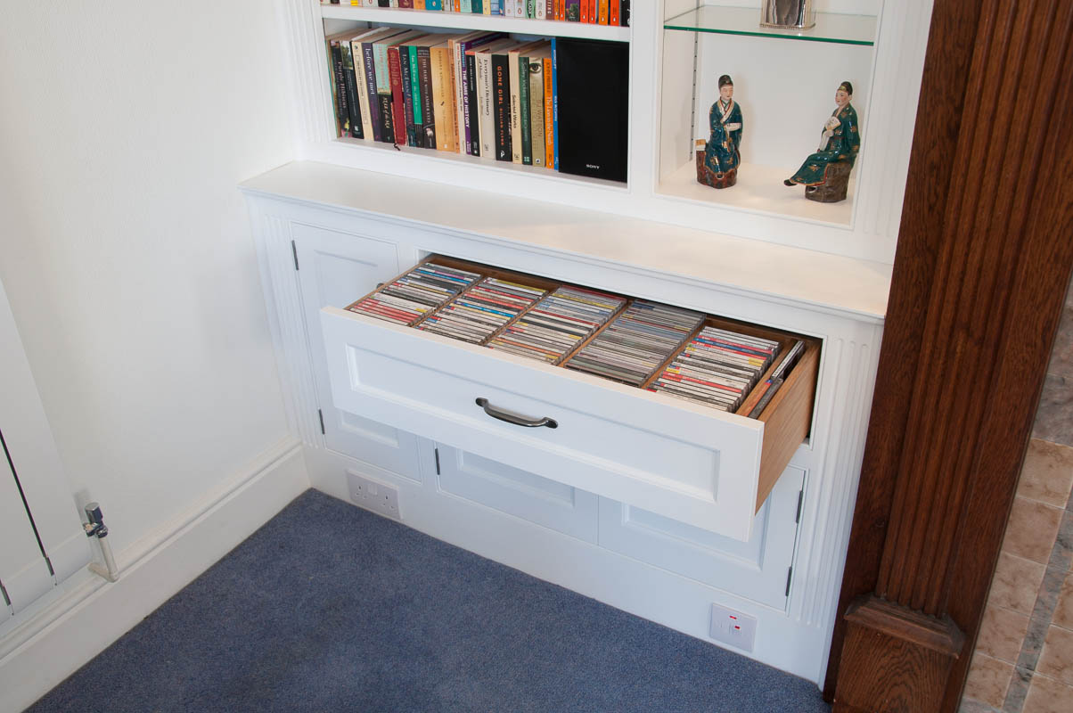 Painted bookcases-4