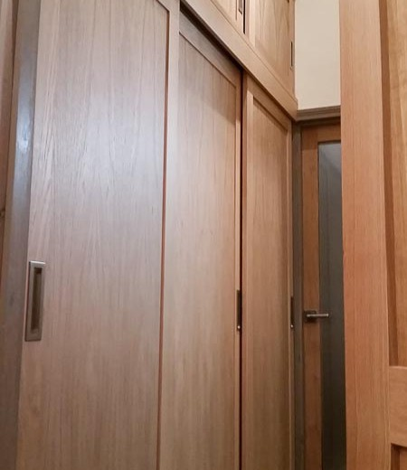 Sliding door wardrobe-3