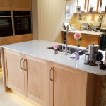 Delicate & Modern Pale Oak Kitchen