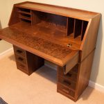 Walnut Secretaire
