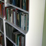 Bookcases – painted