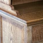 Welsh style dresser and sideboard in solid Oak