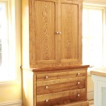 Ash larder cupboard
