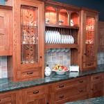 Dark oak kitchen