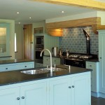 Duck-egg blue kitchen