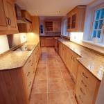 Maple kitchen & granite