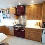 Oiled Oak kitchen with Corian
