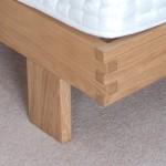 Oak knuckle joint detail