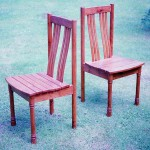 A pair of chairs in Yewtree