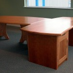 Executive desk and conference table