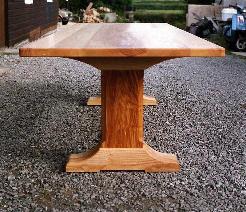 Ash refectory table