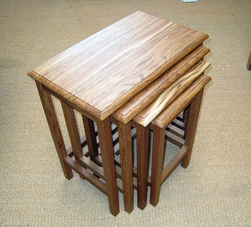 Nest of four tables