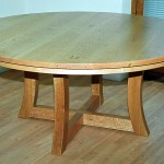 Table in American Cherry made up to a client's design