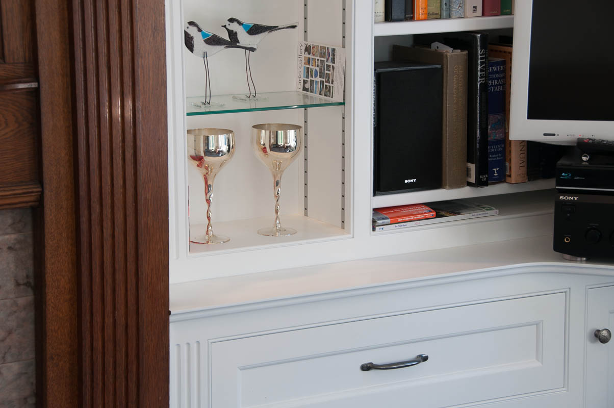 Painted bookcases-2