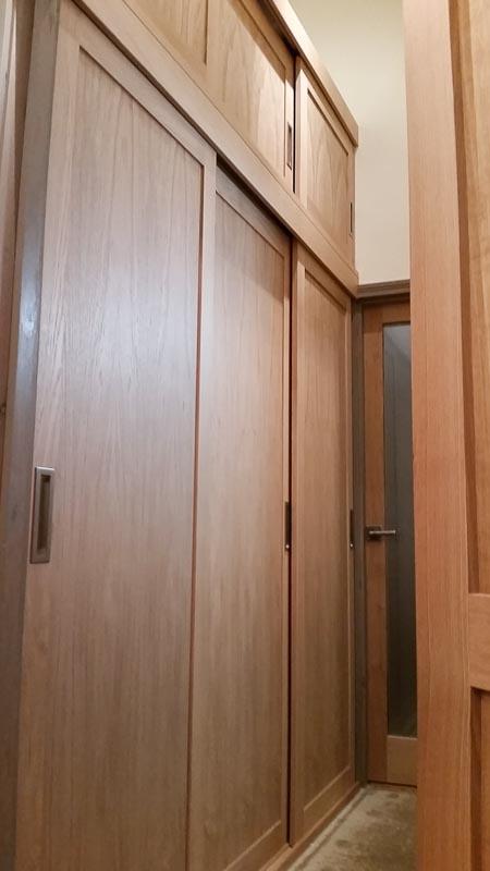 Sliding door wardrobe-3