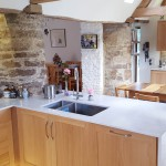 What a lovely space in this beautifully converted barn