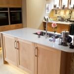 Delicate & Modern Pale Oak Kitchen
